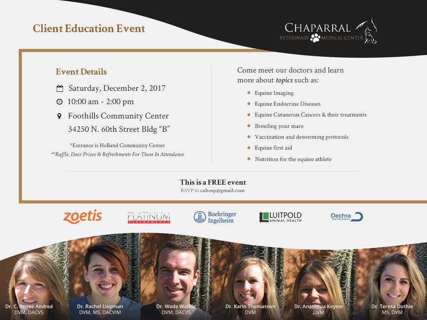 client education event