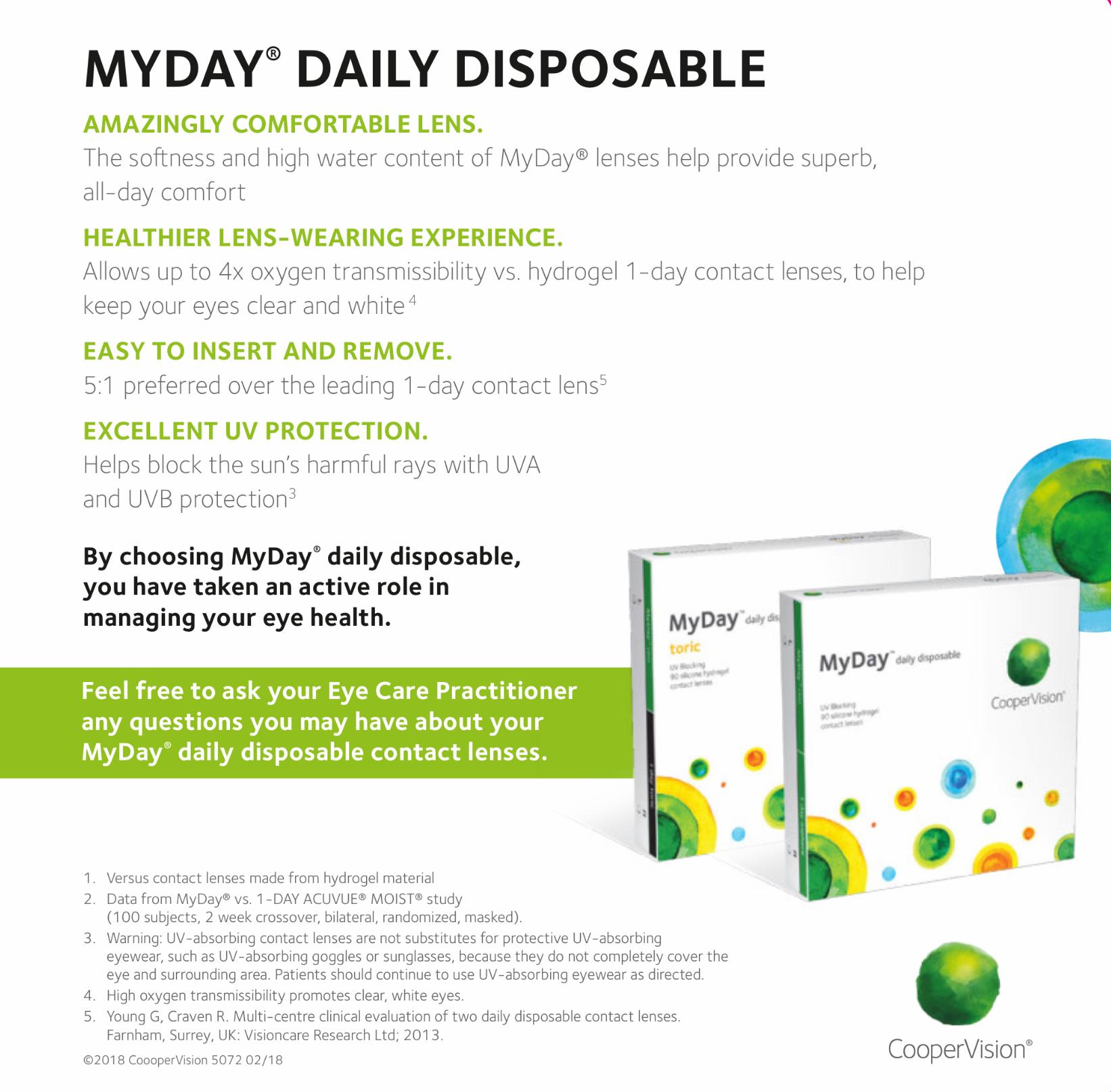 MyDay® Contact Lens