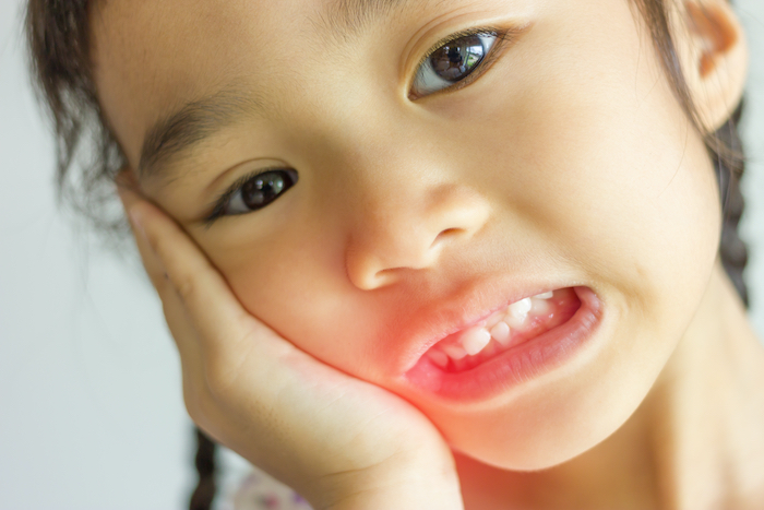 child tooth pain