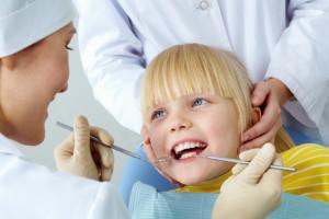 Girl Checked her teeth