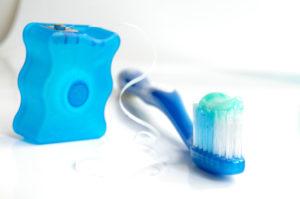 Brushing & flossing