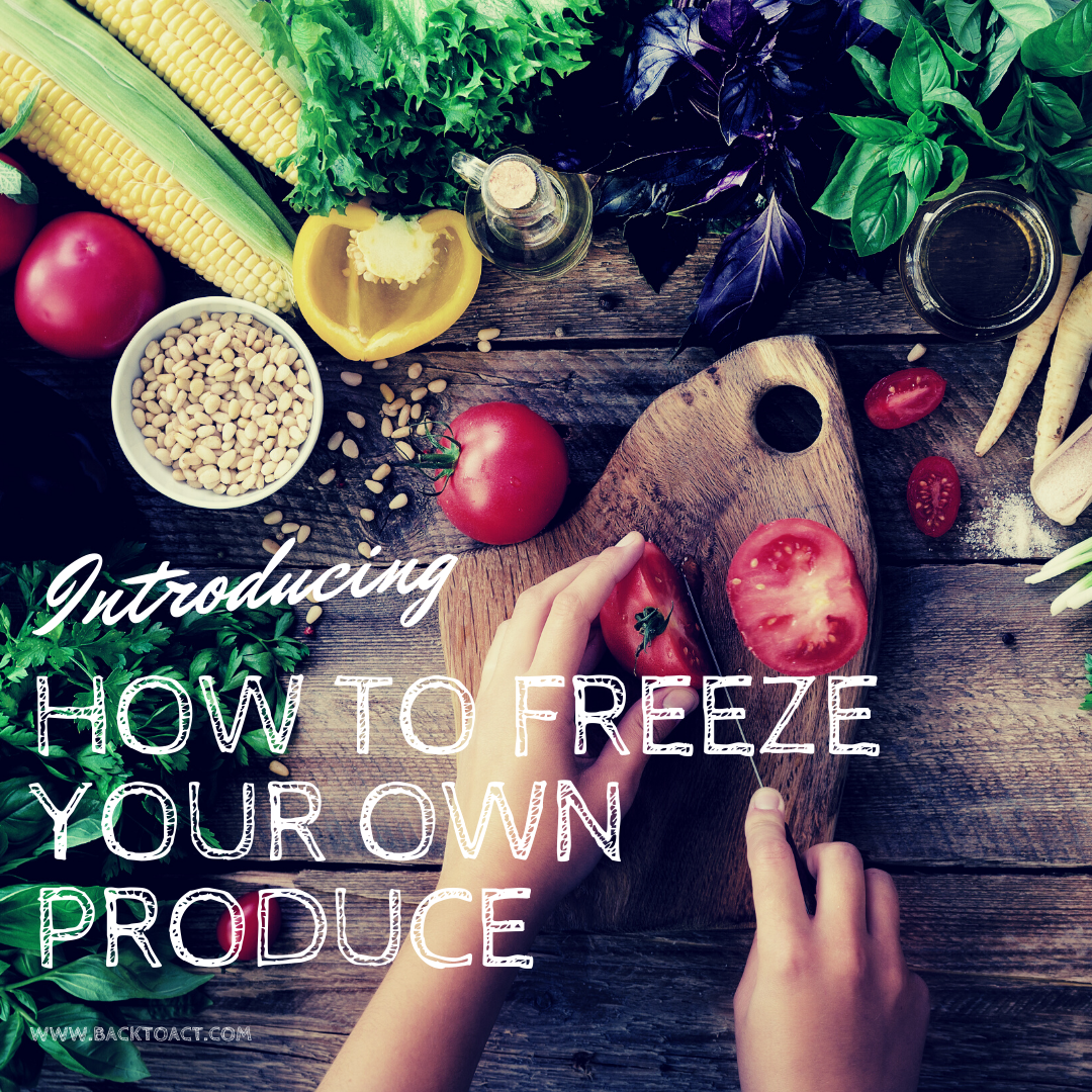 Freeze Your Own Produce