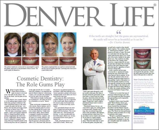 Denver life Dr. Barotz