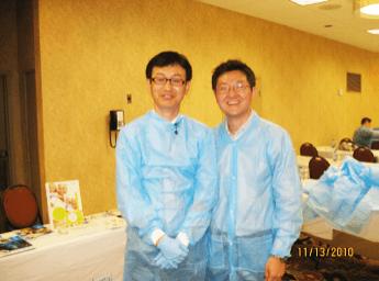 With Dr. Dong-Seok Sohn