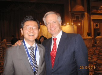 With Dr. Carl Misch