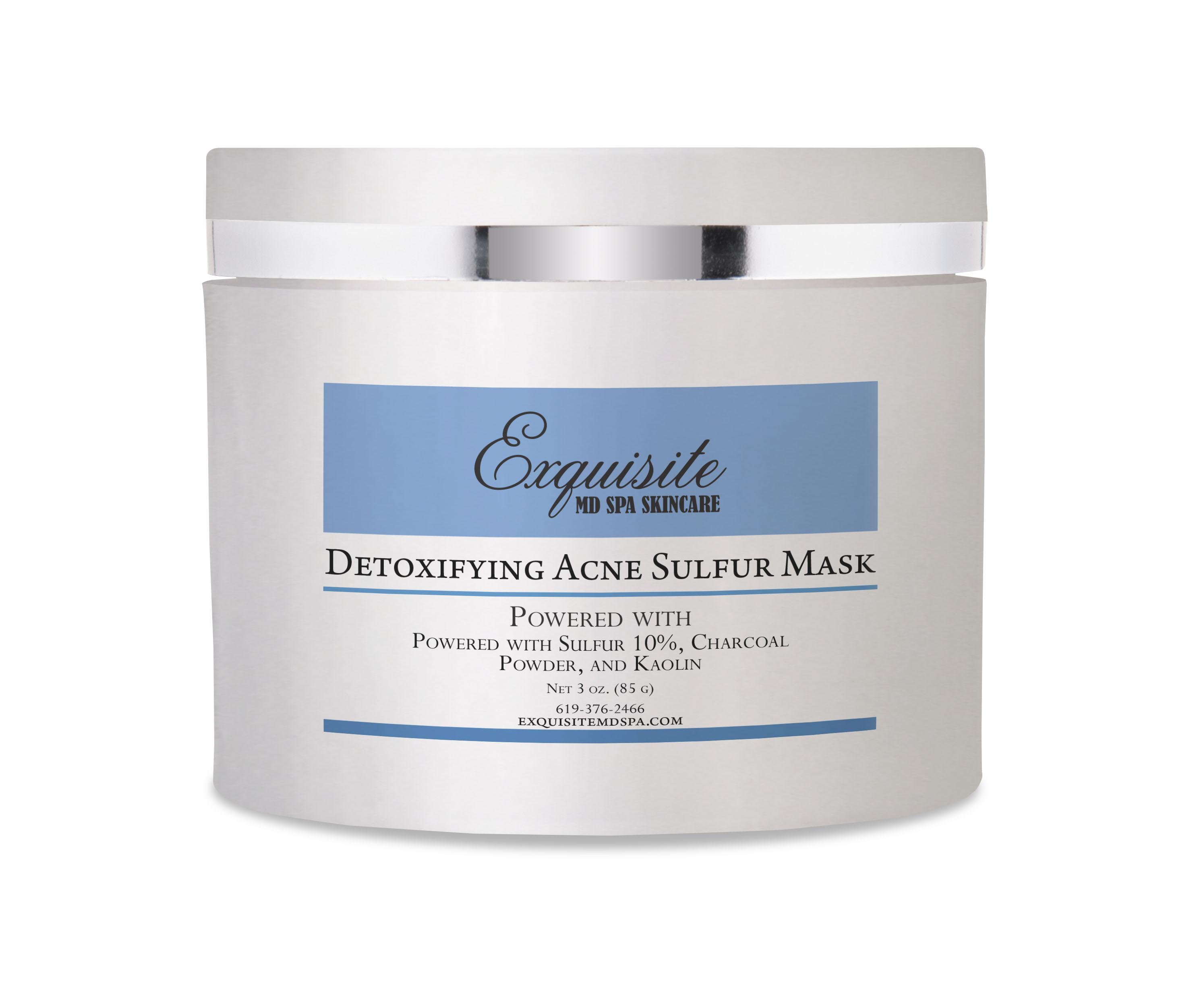Detoxifying Acne Sulfur Mask
