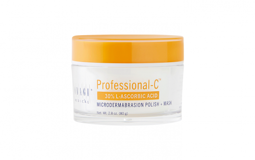 Professional C 30% L-Ascorbic Acid Microdermabrasion Polish + Mask