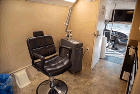 tattoo removal chair