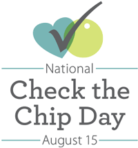 August 15th is Check the Chip Day
