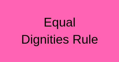 Equal Dignities Rule Real Town | The Real Estate Network