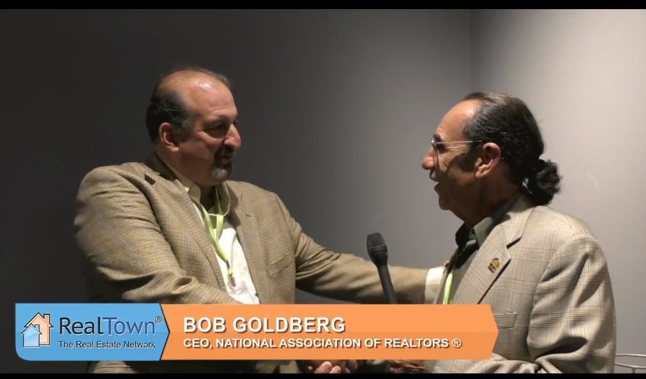 Bob Goldberg CEO of NAR and Saul Klein Discuss NAR's IOI Summit Real Town |  The Real Estate Network