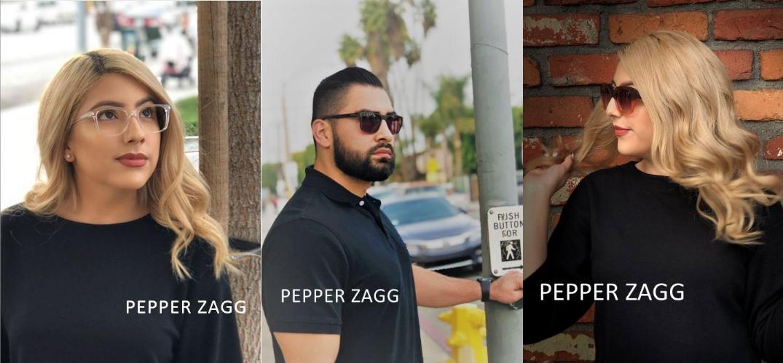 Man and Women in Pepper Zagg Eyewear