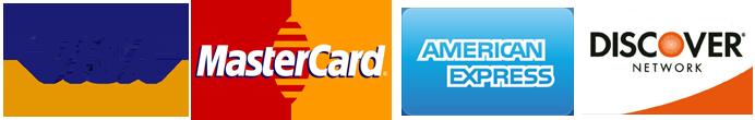 visa mastercard american express discover logo