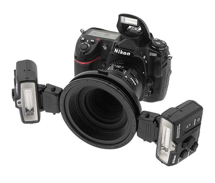 Macro Speedlight System Camera