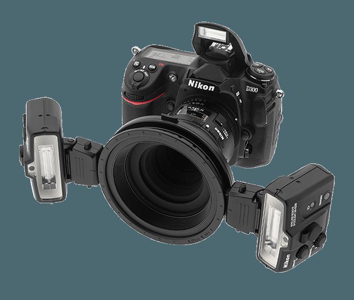 Macro Speedlight System Camera