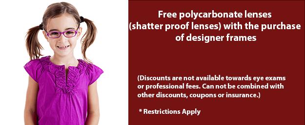 discount polycarbonate lenses