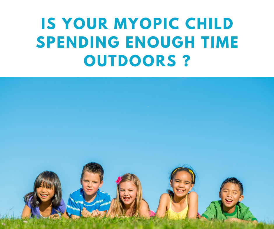 3 Reasons Why Kids With Myopia Need to Spend More Time Outdoors