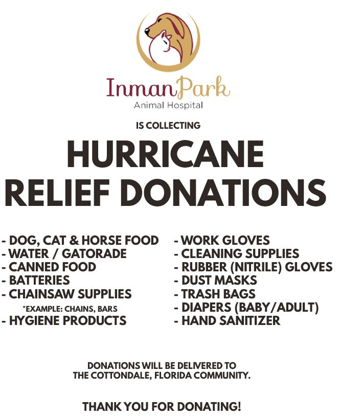 Hurricane Michael Supply Drive