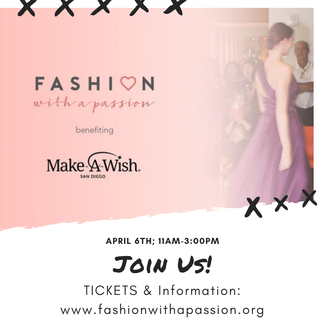 Just a Few Days Until Fashion with a Passion 2019