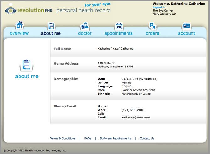 medical portal example