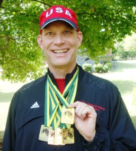 Dr. Jim Gill Goes for Gold (Again) for Team North Carolina in Transplant Games of America