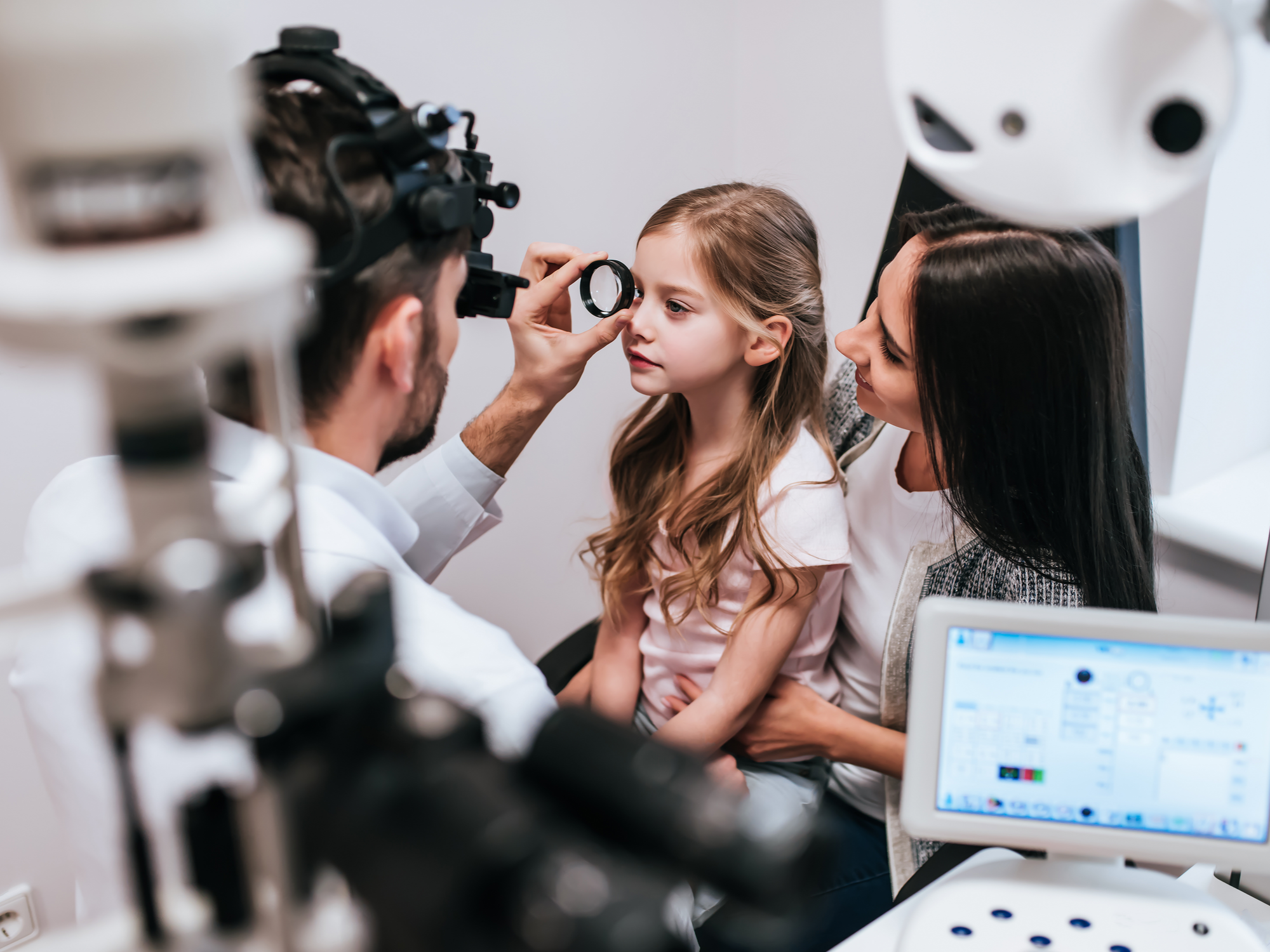 Multifocal Contact Lens for Treating Myopia in Kids
