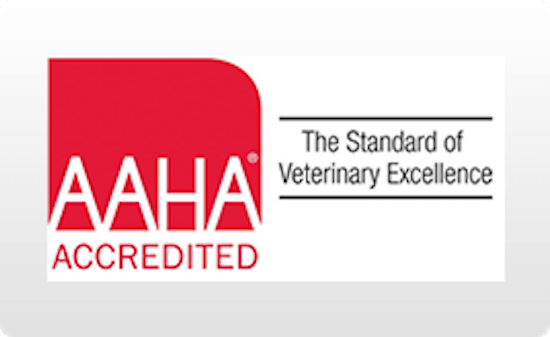 Sign for AAHA Accredited for Petaluma Veterinary Hospital