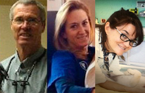 Pictures of our Veterinarians Dr. T, Dr. Smith and Dr. K - Petaluma Veterinary Hospital