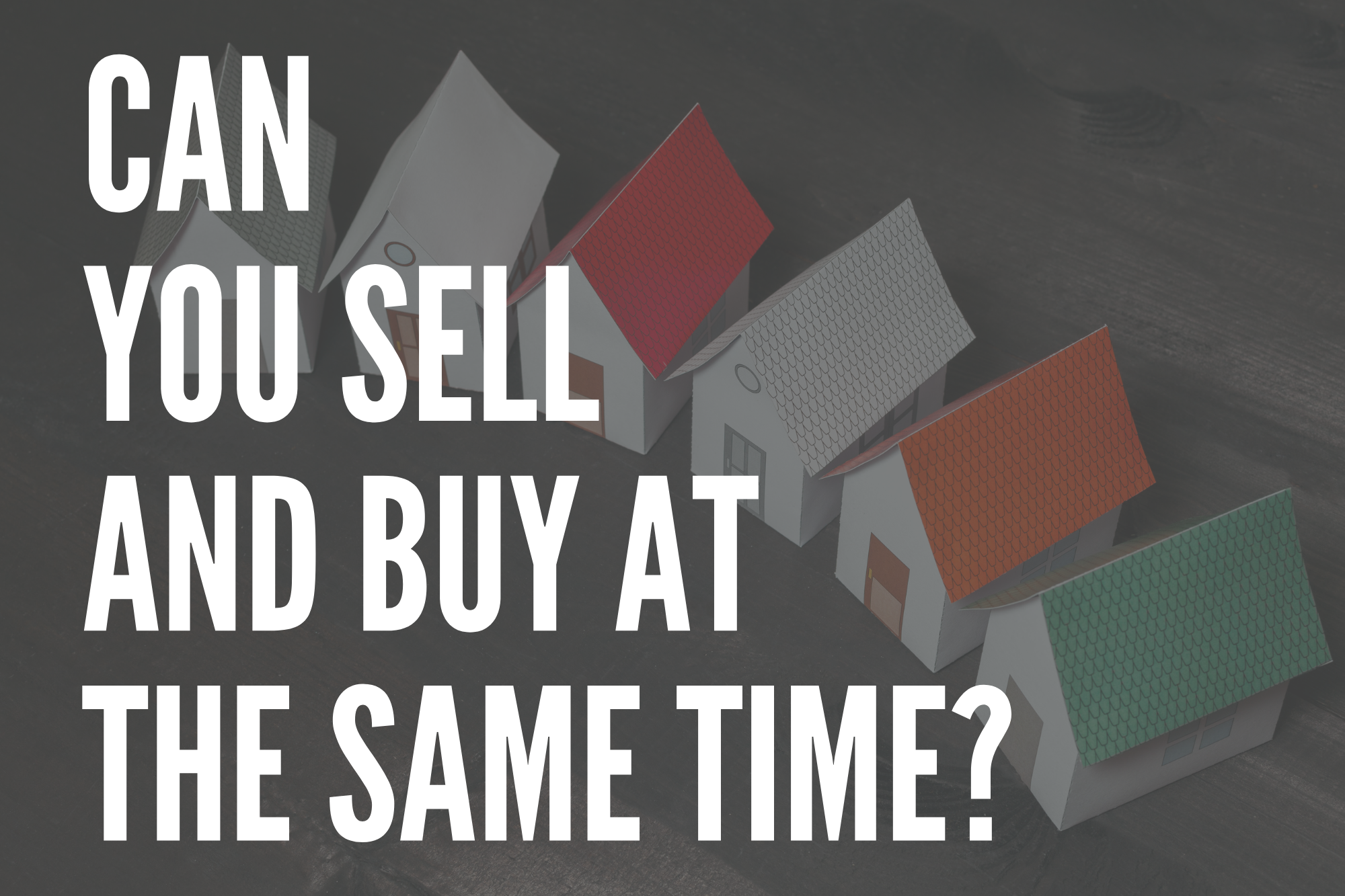 Selling and Buying At The Same Time