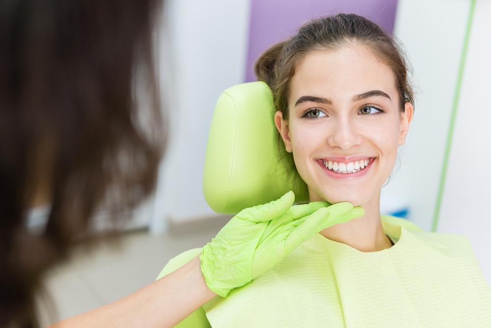 happy dental patient