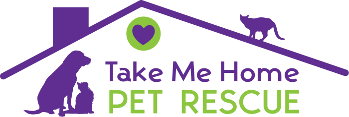 Take Me Home Pet Rescue logo