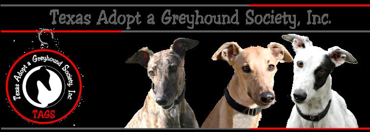 Texas Adopt a Greyhound Society logo