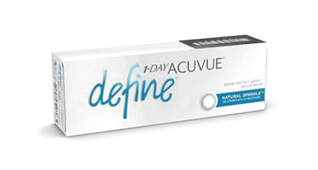 ACUVUE® DEFINE® with LACREON® Technology