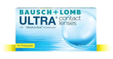 Bausch + Lomb ULTRA for Presbyopia Contact Lenses
