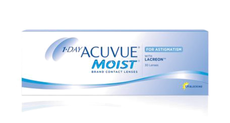 1-DAY ACUVUE® MOIST Contact Lenses
