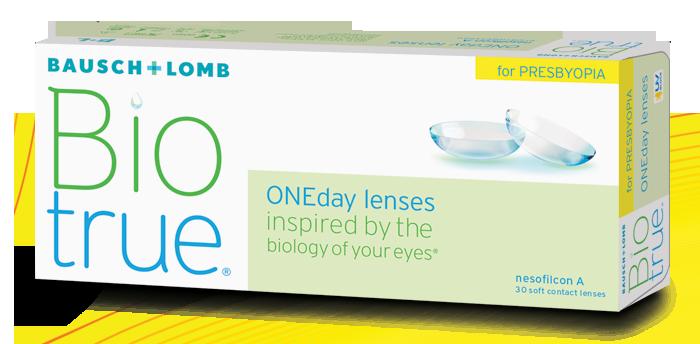 BiotrueONEday for Presbyopia Contact Lenses