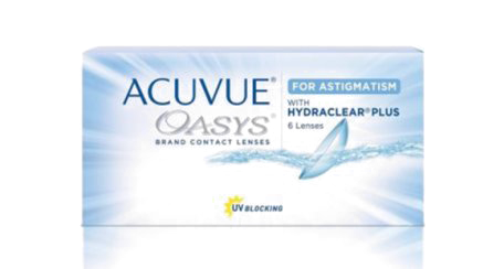 ACUVUE OASYS® 2-WEEK Contacts for ASTIGMATISM