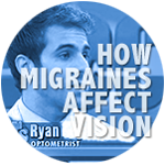 how migraines affect vision