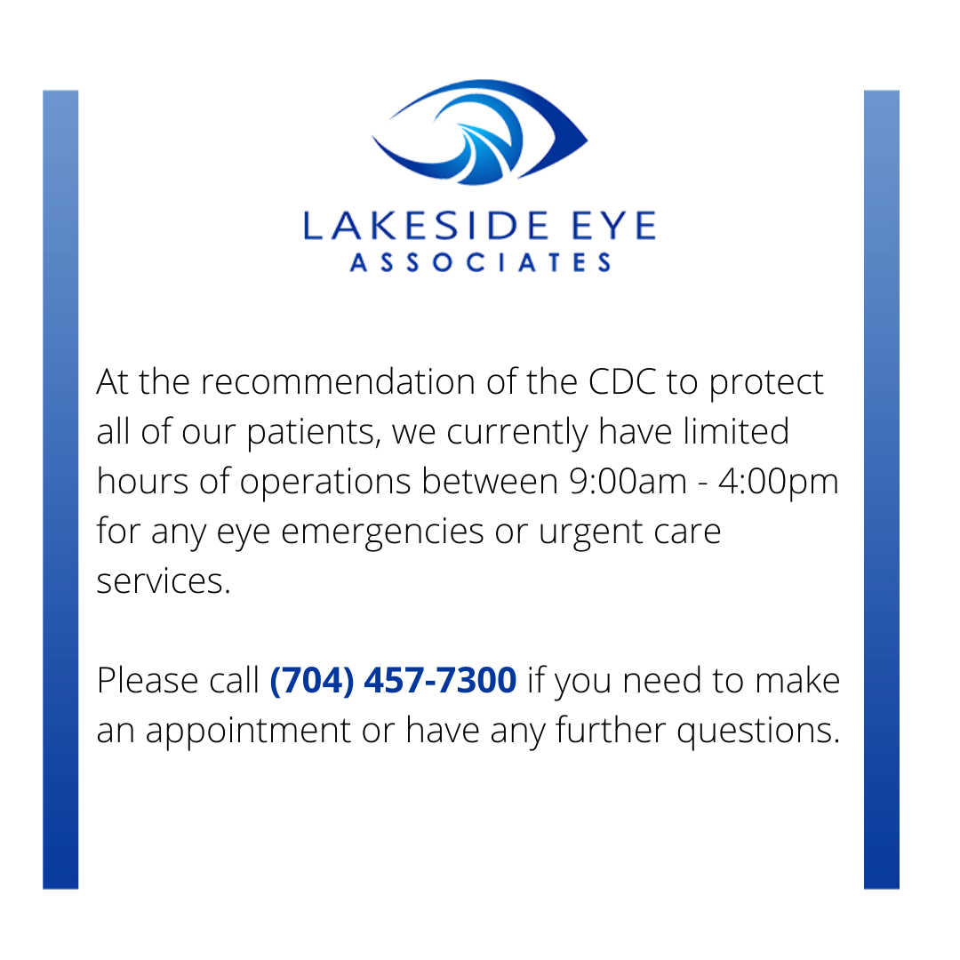 Custom EyeGlasses in Huntersville NC   Lakeside Eye Associates