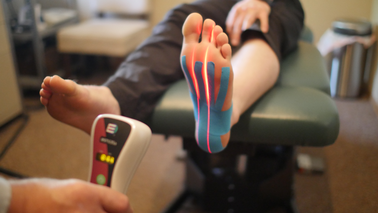 Kinesio Tapping method
