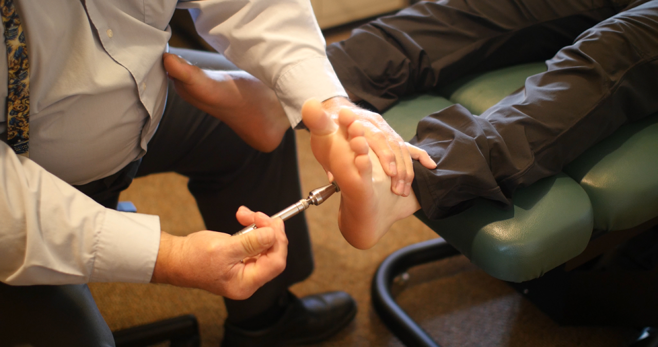 Foot Chiropractic Care