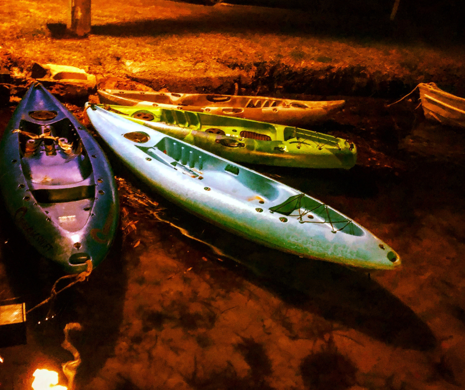 What to Expect with Clear Kayaking at Night?