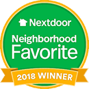 Nextdoor Neighborhood Favorite 2018 Winner
