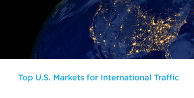 TOP U.S. Markets for International Traffic