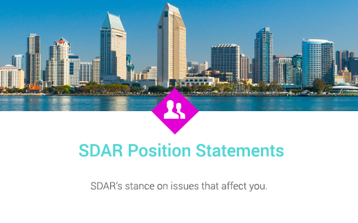 sdar position statements