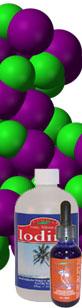 Iodine liquid mineral supplement