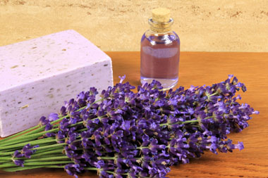 use lavender instead of toxic fabric softeners