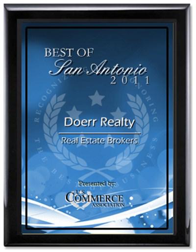 San Antonio Real Estate Brokers Award