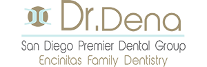 Encinitas' Dentist, Dr. Dena's logo.