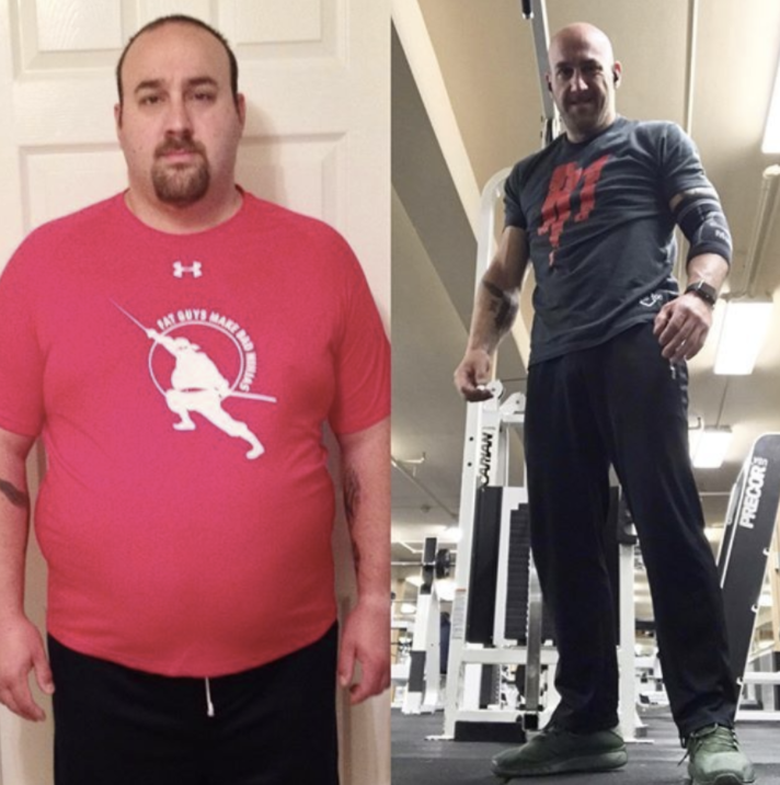 Mike's Before and After Story